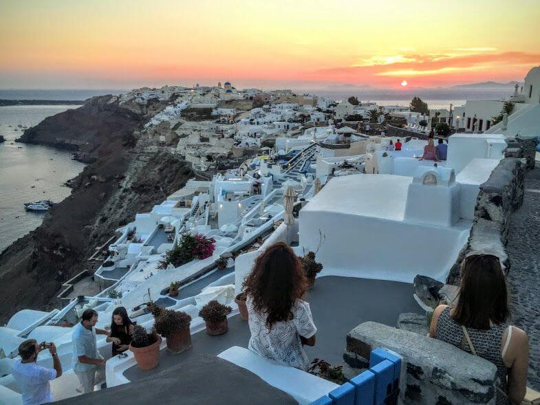 Santorini North Tour Oia Sunset