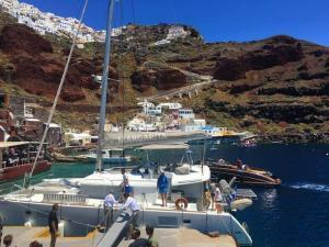 Santorini Half Day Cruise Tours - Santorini Sailing - Santorini Catamaran Cruise