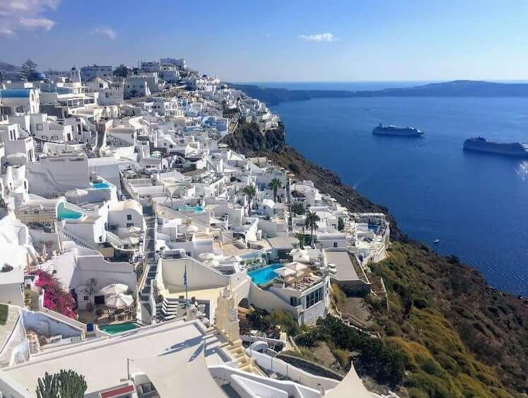 Shore Excursions in Santorini