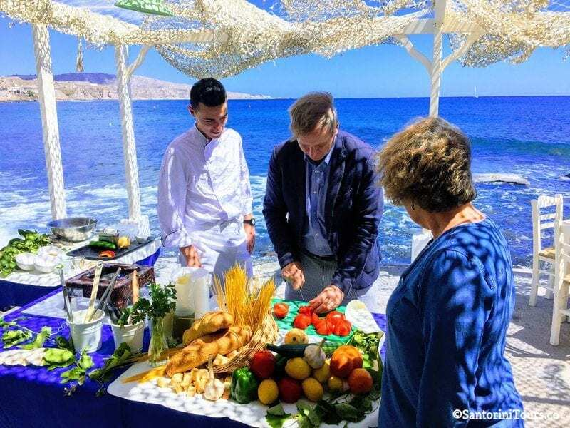 Santorini Cooking Class and Wine Tour