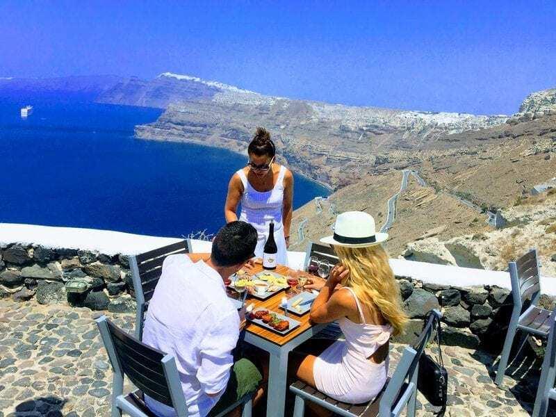 Santorini History and Wine Tour