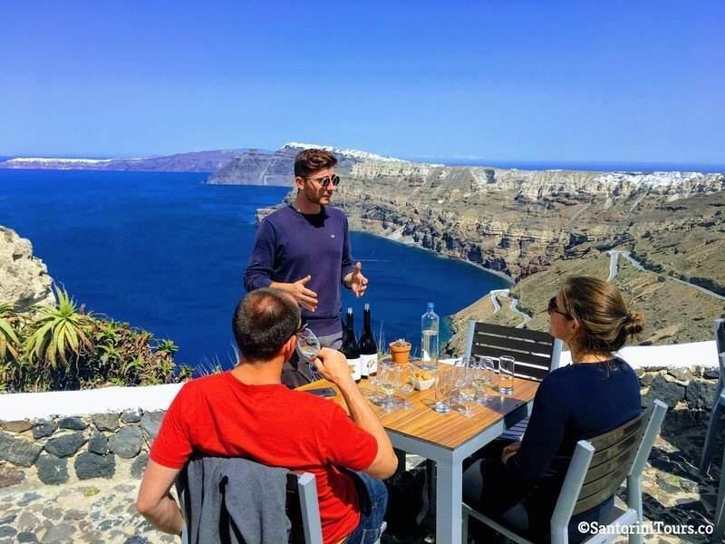 Small Group Santorini Wine Tasting Tour